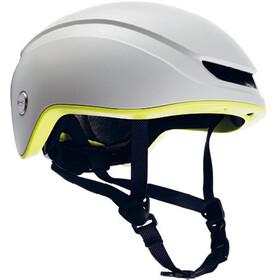 Brooks Island Helmet white/lime